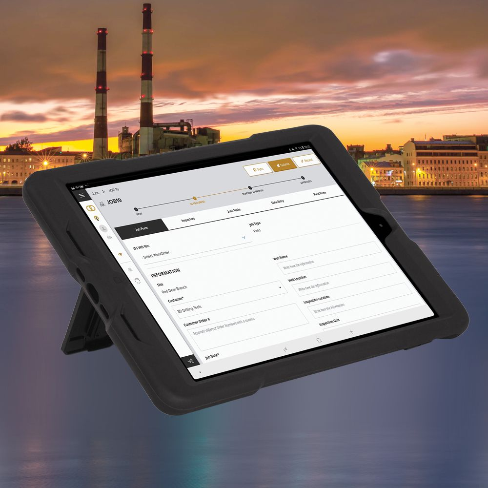 Solution Shawcor custom platform for oilfield inventory management